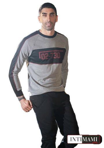 Pigiama homewear uomo cotone caldo Intimami IU234 - CIAM Centro Ingrosso Abbigliamento