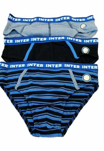 Slip bambino in cotone elasticizzato Inter IN12051 - CIAM Centro Ingrosso Abbigliamento