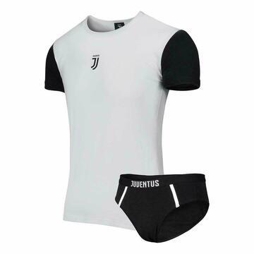 Completo bambino con t-shirt e slip Juventus B2JU12056 - CIAM Centro Ingrosso Abbigliamento
