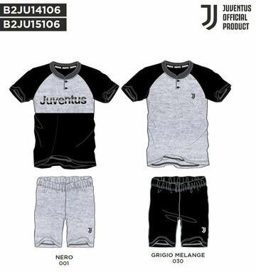 Pigiama uomo homewear in cotone Juventus JU14106 - CIAM Centro Ingrosso Abbigliamento