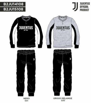 Pigiama uomo manica lunga in cotone Juventus JU14108 - CIAM Centro Ingrosso Abbigliamento