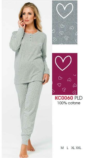 Pigiama donna in cotone Karelpiu' KC0060 - CIAM Centro Ingrosso Abbigliamento