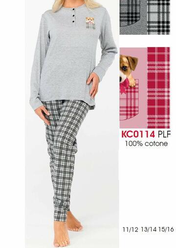 Pigiama ragazza in cotone Karelpiu' KC0114 - CIAM Centro Ingrosso Abbigliamento