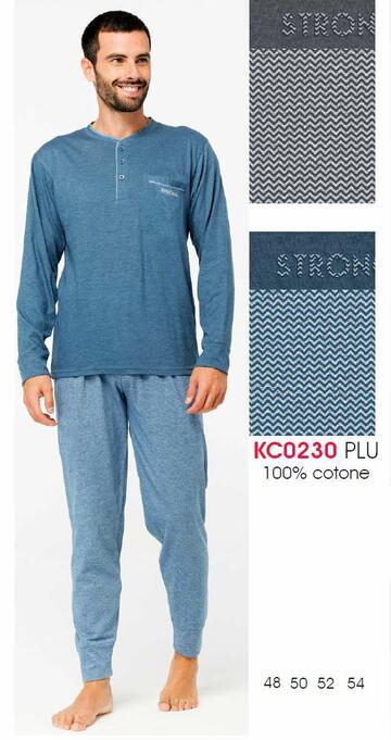 Pigiama uomo in cotone Karelpiu' KC0230 - CIAM Centro Ingrosso Abbigliamento