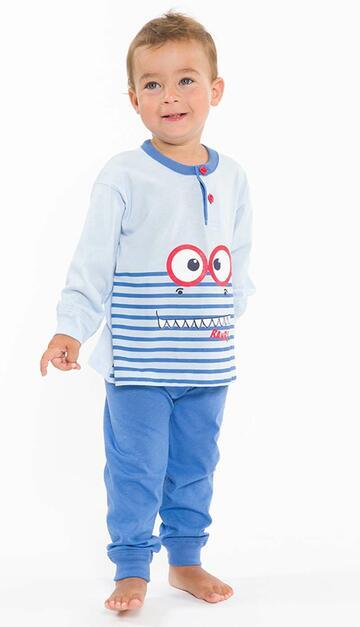 Pigiama neonato in cotone Gary L10011 - CIAM Centro Ingrosso Abbigliamento