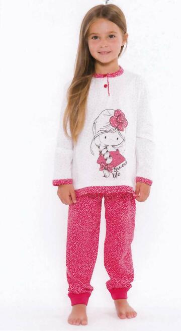 Pigiama bambina in cotone Gary L20002 Tg.3/7 anni - CIAM Centro Ingrosso Abbigliamento