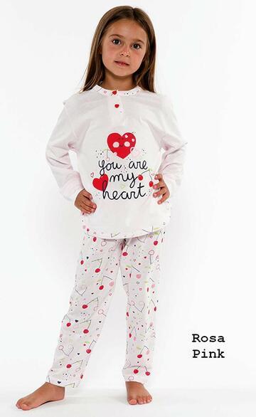 Pigiama bambina in cotone Gary L20005 - CIAM Centro Ingrosso Abbigliamento