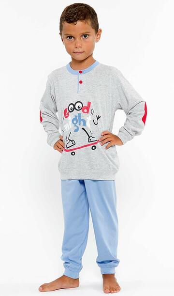 Pigiama bambino in cotone Gary L20037 Tg.8/10 Anni - CIAM Centro Ingrosso Abbigliamento