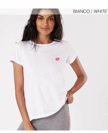 T-shirt donna in cotone Lotto LA1011 - CIAM Centro Ingrosso Abbigliamento