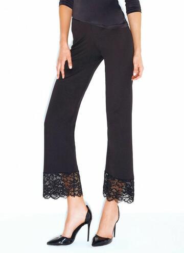 Le285 leggins pizzo donna - CIAM Centro Ingrosso Abbigliamento