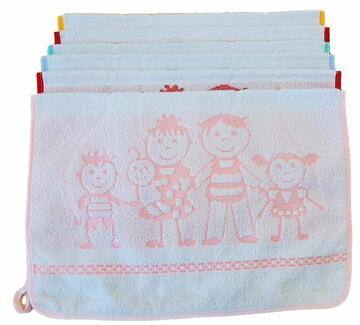 Asciugamano per asilo in spugna Almatex Love ASC273 - CIAM Centro Ingrosso Abbigliamento