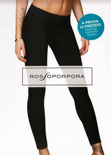 Leggings donna felpata Rosso Porpora LR104F - CIAM Centro Ingrosso Abbigliamento