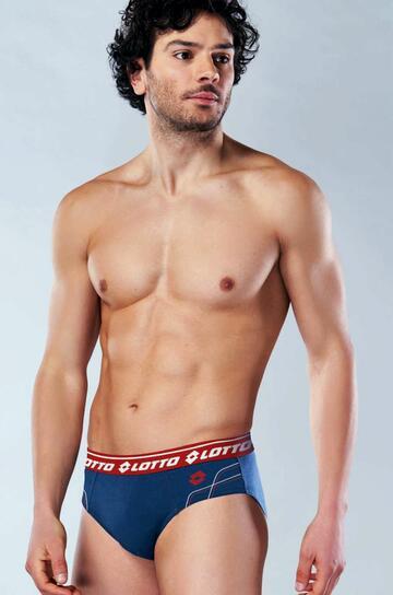Slip uomo moda in cotone elasticizzato Lotto LS1262 - CIAM Centro Ingrosso Abbigliamento