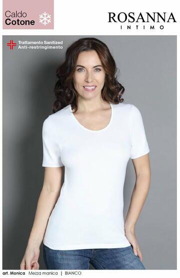 Monica b.co mm caldo cotone donna - CIAM Centro Ingrosso Abbigliamento
