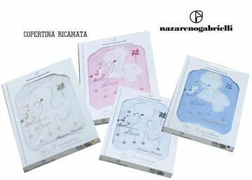 Copertina da lettino in cotone Nazareno Gabrielli NG520 - CIAM Centro Ingrosso Abbigliamento
