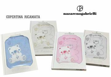 Copertina da culla in cotone Nazareno Gabrielli NG420 - CIAM Centro Ingrosso Abbigliamento