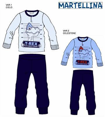 Pigiama da bambino CALDO cotone Martellina NM20156 - CIAM Centro Ingrosso Abbigliamento