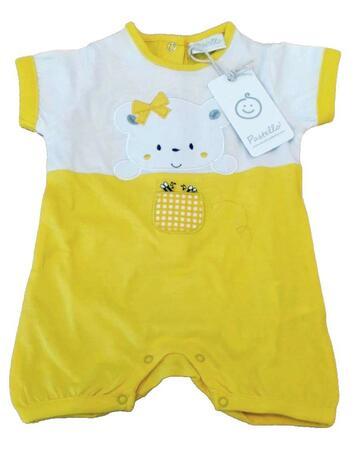 Pagliaccetto in cotone da neonata Pastello PA20Y - CIAM Centro Ingrosso Abbigliamento