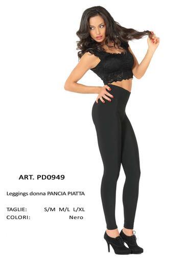 Leggings donna pancia piatta felpata Gladys PD0949 - CIAM Centro Ingrosso Abbigliamento