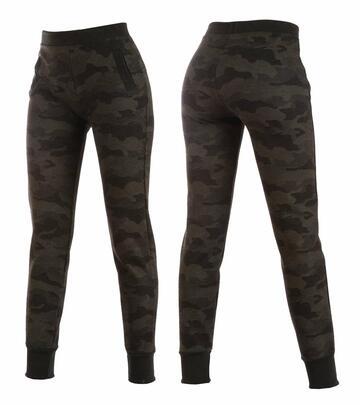 Leggings donna jogger in jersey felpato camouflage Gladys PD1302 - CIAM Centro Ingrosso Abbigliamento