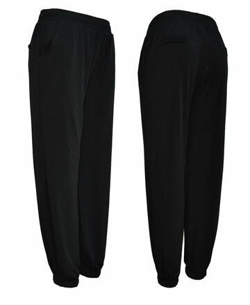 Pantalone donna jogger con polsini Gladys PD1414 - CIAM Centro Ingrosso Abbigliamento