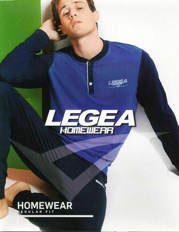 Pigiama uomo in cotone Legea PG43337 manica lunga - CIAM Centro Ingrosso Abbigliamento