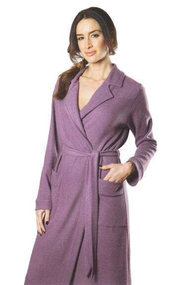 Vestaglia donna felpata Giusy Mode Clara - CIAM Centro Ingrosso Abbigliamento