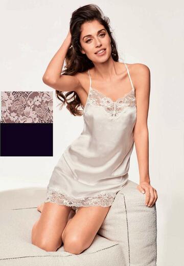 Camicia da notte donna Lormar Saten SAT0955 - CIAM Centro Ingrosso Abbigliamento
