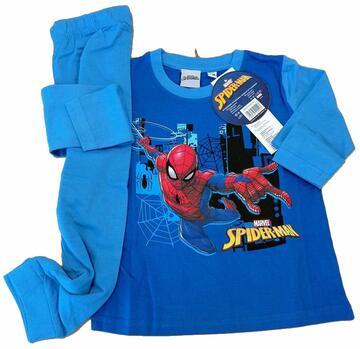 Pigiama bambino manica lunga in cotone Spider Man SPM-001 - CIAM Centro Ingrosso Abbigliamento