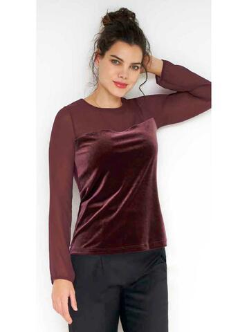 33692 ml velluto donna - CIAM Centro Ingrosso Abbigliamento