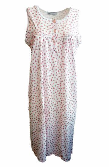 Camicia da notte donna smanicata Fiorenza Amadori art. Spalla Carre' - CIAM Centro Ingrosso Abbigliamento