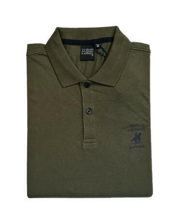 POLO UOMO JERSEY COTONE USP073 US GRAND POLO - CIAM Centro Ingrosso Abbigliamento