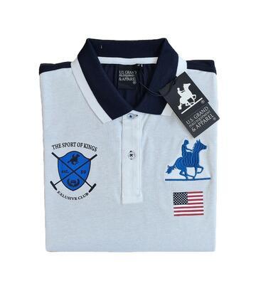 POLO UOMO COTONE PIQUET US GRAND POLO USP083 - CIAM Centro Ingrosso Abbigliamento