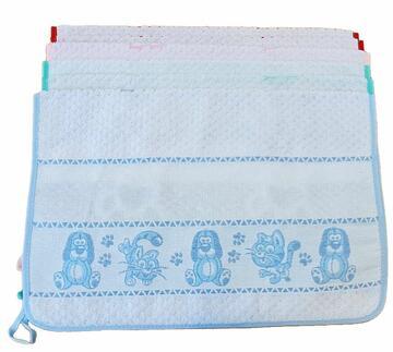 Asciugamano per asilo in spugna Almatex Zampa ASC266 - CIAM Centro Ingrosso Abbigliamento