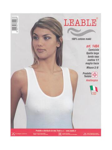Art. 14041404 3-6 camiciola sl d. leable - CIAM Centro Ingrosso Abbigliamento