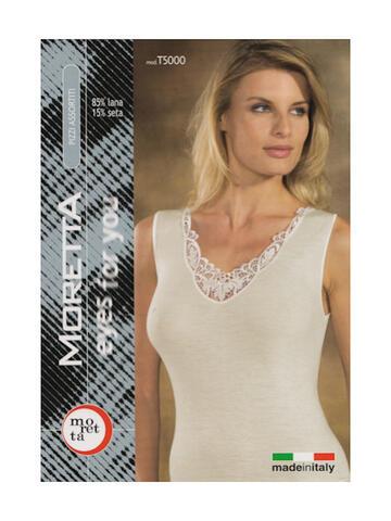 Art: T5000 - TG. 7 - 85000 camic.sl 7-9 b/n donna - CIAM Centro Ingrosso Abbigliamento