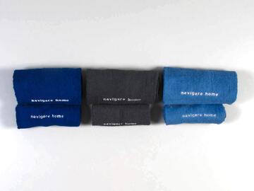 Art: 1 + 1 Set asciugamani1+1 set asciugamano navigare - CIAM Centro Ingrosso Abbigliamento