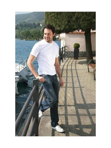 Art. 862 Bianco862 b.co maglia mm uomo - CIAM Centro Ingrosso Abbigliamento