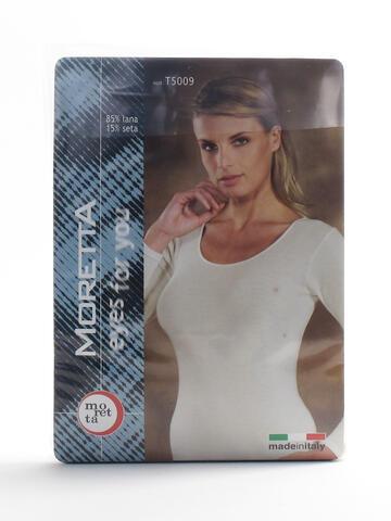Art: T50095009 camic.   3-6 b/n ml lanaseta donna - CIAM Centro Ingrosso Abbigliamento