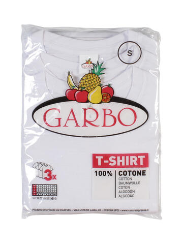 Art. 3 t-shirt biancheGarbo x3 mm uomo bianco - CIAM Centro Ingrosso Abbigliamento