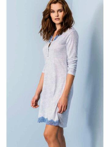 ART. 630151Mat0151 camicia ml notte donna - CIAM Centro Ingrosso Abbigliamento