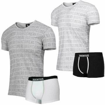 Completo bambino con t-shirt e boxer Juventus B2JU12055 - CIAM Centro Ingrosso Abbigliamento
