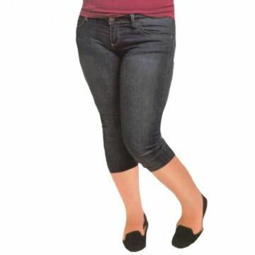 Pd0452 leggins capri conformato jeans donna - CIAM Centro Ingrosso Abbigliamento