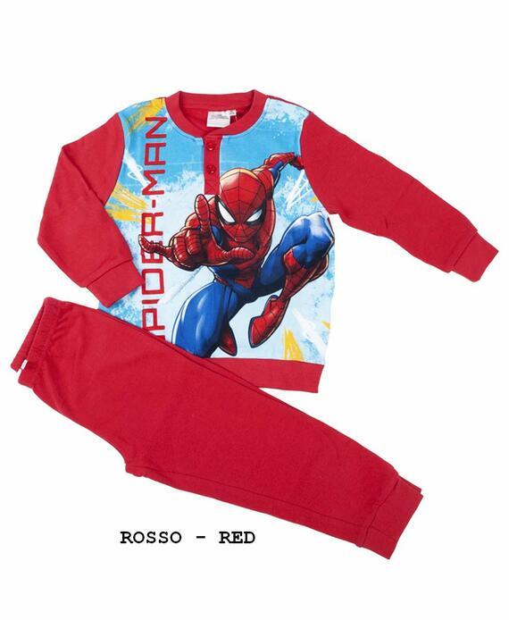 Pigiama da bambino in CALDO cotone Marvel Spiderman SPM-0018