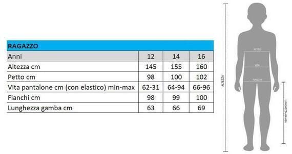 H40015 PIG.ML INTERL.RAGAZZO