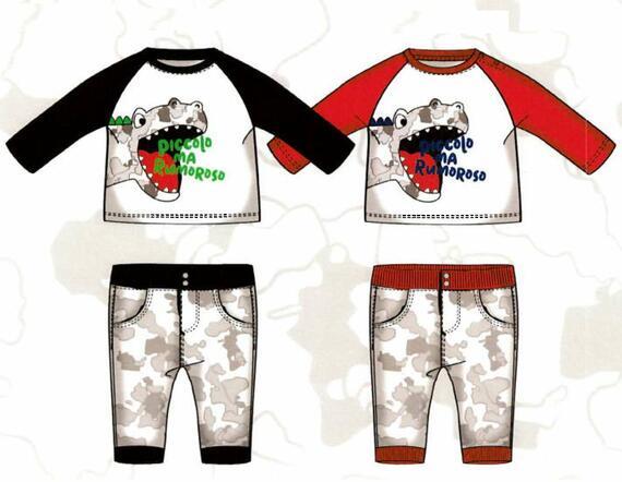 Tuta jogging neonato Mignolo 22241