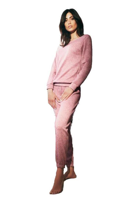 Pigiama homewear donna in viscosa pesante Intimami ID793