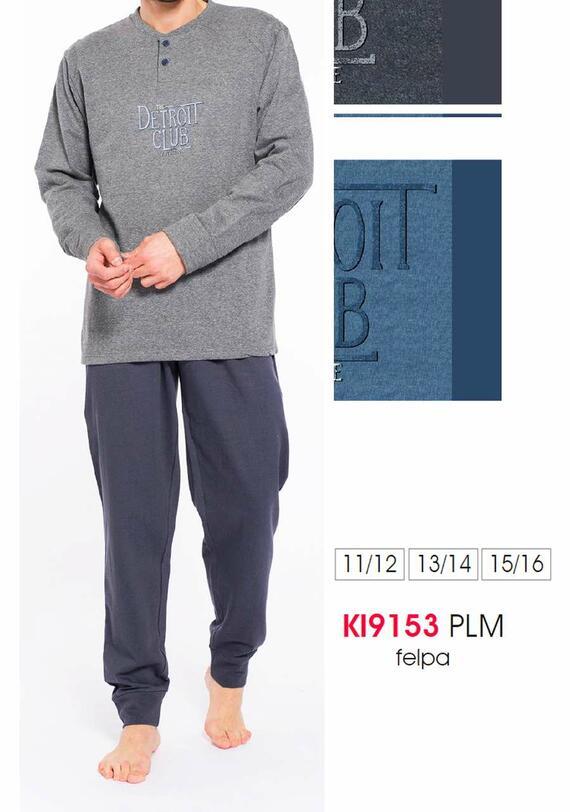 KI9153 PIG.SOTTOUOMO FELPA KAREL