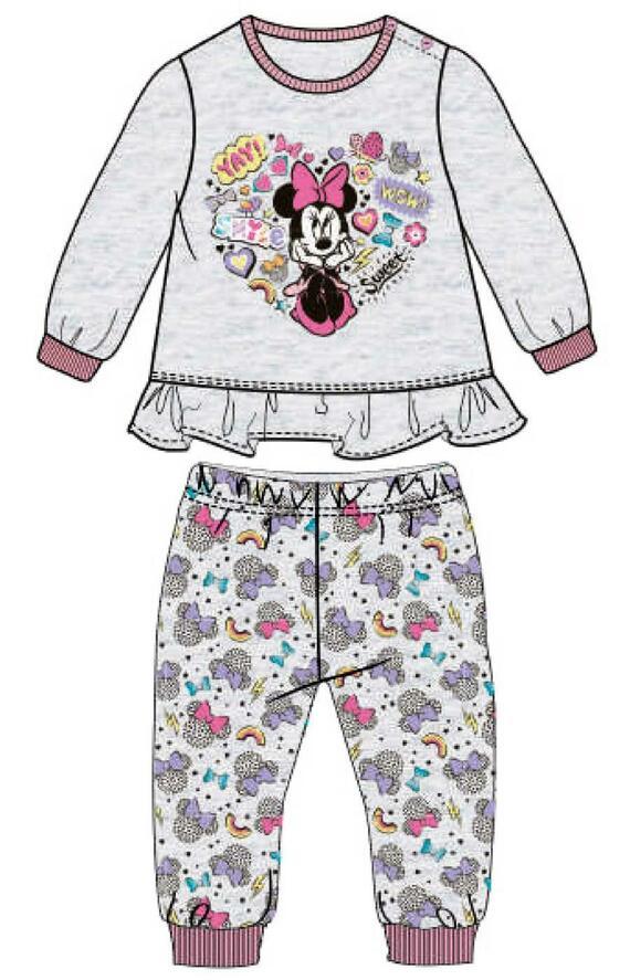 Pigiama neonato in cotone Disney WD101541